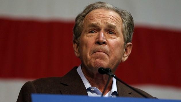 Ex-Präsident Bush gibt Trump nicht seine Stimme (Bild: APA/AFP/GETTY IMAGES/SPENCER PLATT)