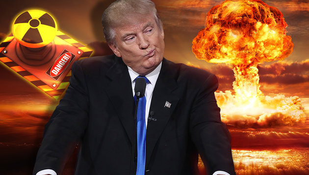 In 72 Tagen könnte Trump Zivilisation auslöschen (Bild: APA/AFP/GETTY IMAGES/WIN MCNAMEE, thinkstockphotos.de)