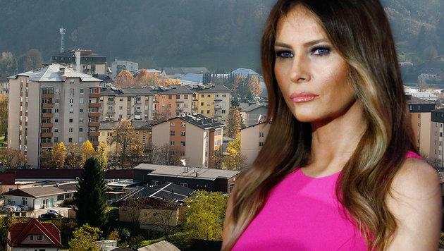 Melania Trump stammt aus dem slowenischen Städtchen Sevnica. (Bild: AP, APA/AFP/KENA BETANCUR)