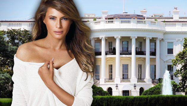 Melania Trump: Vom sexy Model zur neuen First Lady (Bild: facebook.com/MelaniaTrump, thinkstockphotos.de)