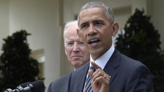 Obama: Müssen friedliche Übergabe garantieren (Bild: ASSOCIATED PRESS)
