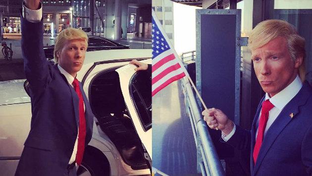 "Oliver Pocher als ""Donald Trump"" (Bild: Instagram/Oliver Pocher)"
