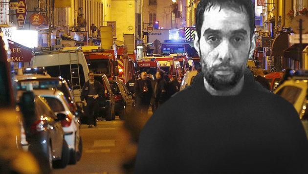 """Der mutmaßliche Drahtzieher der Anschläge von Paris: Oussama Ahmad Atar (Bild: AFP, """"Krone"""")"""