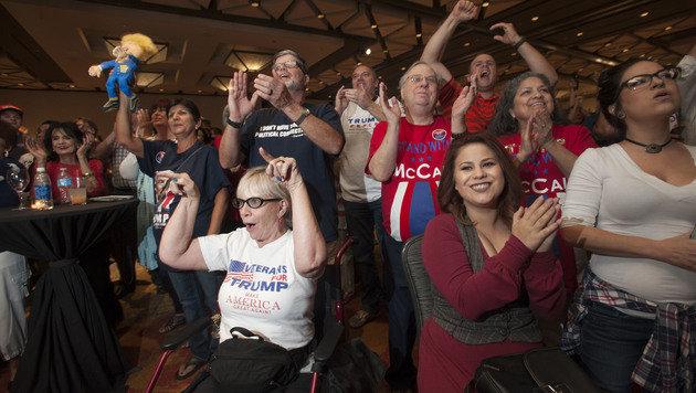 Das sagt die internationale Presse zu Trumps Sieg (Bild: APA/AFP/LAURA SEGALL)
