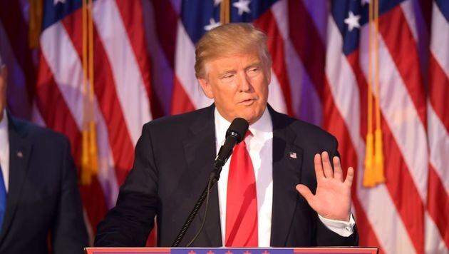 Donald Trump (Bild: APA/AFP/JIM WATSON)