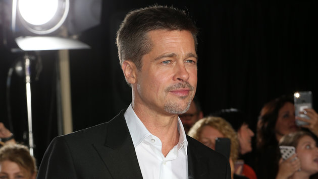 Brad Pitt zum ersten Mal nach Trennung am Roten Teppich (Bild: Viennareport)