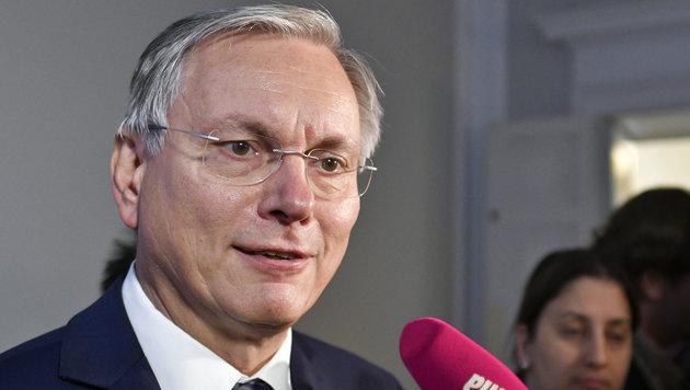 Sozialminister Alois Stöger (Bild: APA/HERBERT NEUBAUER)