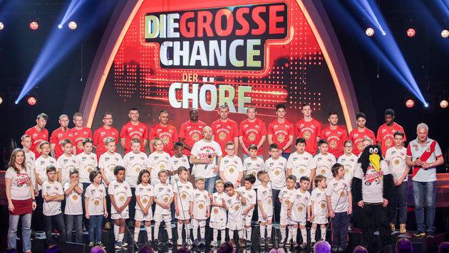 """""""Die große Chance der Chöre"""" - erste Live-Show (Bild: APA/ORF/MILENKO BADZIC)"""