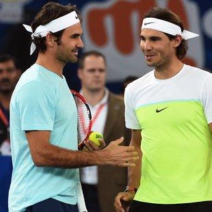 Federer verletzt ++ Nadal wird neue Nummer 1! (Bild: APA/AFP/SAJJAD HUSSAIN)