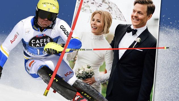 Hargin trauert um Ehefrau: Skifahren als Therapie (Bild: APA/AFP/FABRICE COFFRINI, instagram.com)