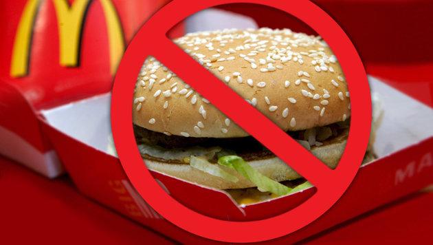"""McDonald""""s schafft den klassischen """"Big Mac"""" ab (Bild: dpa/Matthias Schrader, thinkstockphotos.de)"""