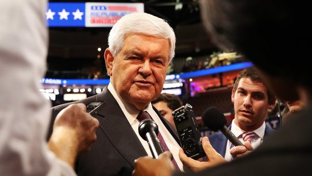 Newt Gingrich (Bild: APA/AFP/GETTY IMAGES/JOHN MOORE)