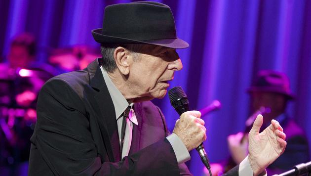 Leonard Cohen (Bild: APA/AFP/GETTY IMAGES/MIKE LAWRIE)