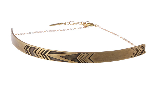 Choker in Gold (Bild: Epic Wear)