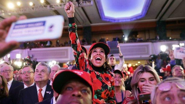 US-Medien müssen jetzt Trumps Amerika entdecken (Bild: APA/AFP/GETTY IMAGES/CHIP SOMODEVILLA)