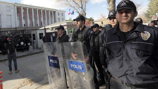 """Kurz-Kritik an Erdogan: """"EU darf da nicht zusehen"""" (Bild: The Associated Press)"""