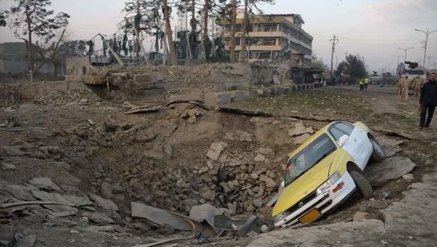 Deutscher Konsul in letzter Sekunde gerettet (Bild: APA/AFP/FARSHAD USYAN)