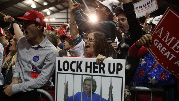US-Medien müssen jetzt Trumps Amerika entdecken (Bild: Associated Press)