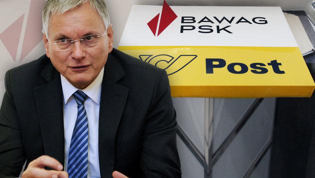 Neue Kontopakete: Sozialminister klagt die BAWAG! (Bild: Andi Schiel, APA/HERBERT NEUBAUER)