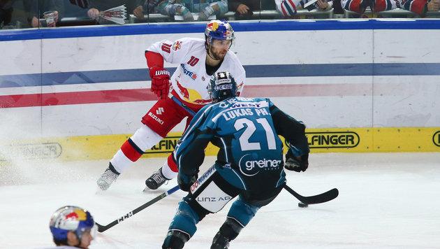 Red Bull Salzburg gewinnt Schlager gegen Linz (Bild: GEPA)