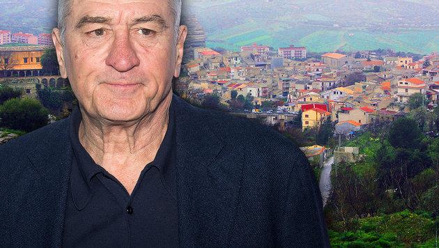"Robert De Niro: ""Ich wandere nach Italien aus"" (Bild: APA/AFP/Fabrizio Villa; AP)"