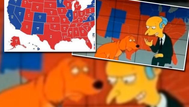 """""""Simpsons""""-Macher sagten auch Ergebnisse voraus (Bild: FOX)"""