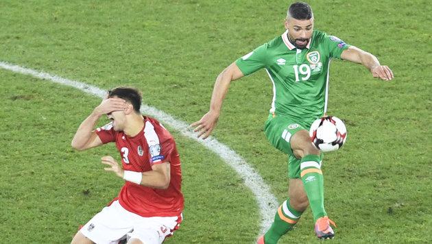 0:1! Iren trampeln auf WM-Traum Österreichs herum (Bild: APA/ROBERT JAEGER)
