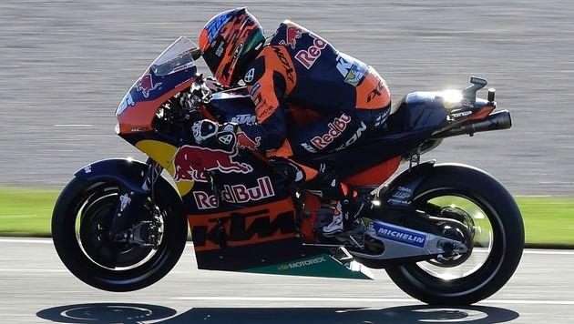 Kallio bei KTM-Debüt in MotoGP-Qualifying 20. (Bild: AFP)
