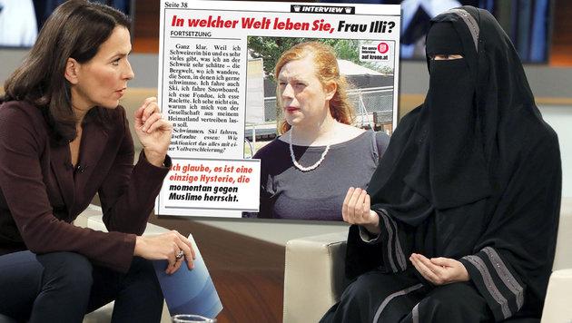 """Illi: """"Hinschauen, wie Muslime unterdrückt werden"""" (Bild: NDR/Wolfgang Borrs, """"Krone""""-ePaper)"""