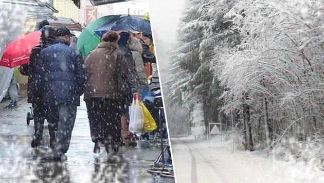 Erster Schneefall rettet Skisaison vorzeitig (Bild: Leserreporter Eriwn Graf, Einsatzdoku.at)