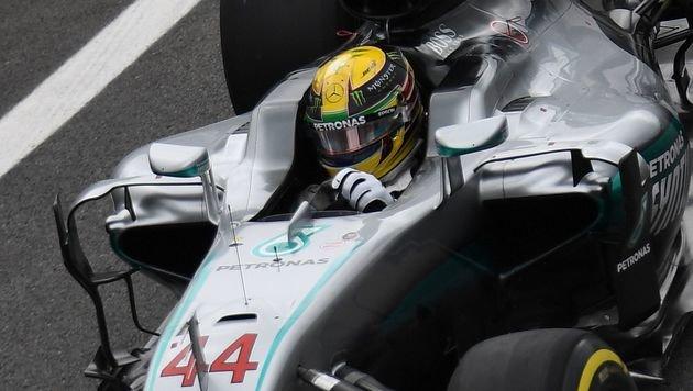 Lewis Hamilton rast zur 60. Karriere-Poleposition! (Bild: AFP)