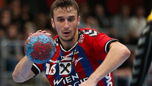 Fivers-Spieler Mathias Nikolic (Bild: GEPA)