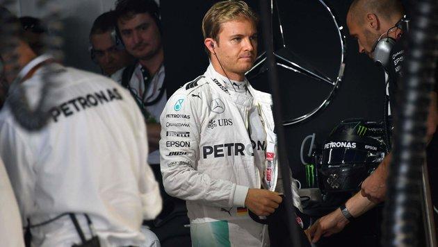 """Rosberg: """"Konzentriere mich nur auf dieses Rennen"""" (Bild: APA/AFP/NELSON ALMEIDA)"""