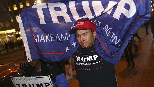 """""""Donald Trump spricht die Gefühle der Mehrheit an"""" (Bild: The Associated Press)"""