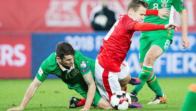 0:1! Iren trampeln auf WM-Traum Österreichs herum (Bild: APA/GEORG HOCHMUTH)