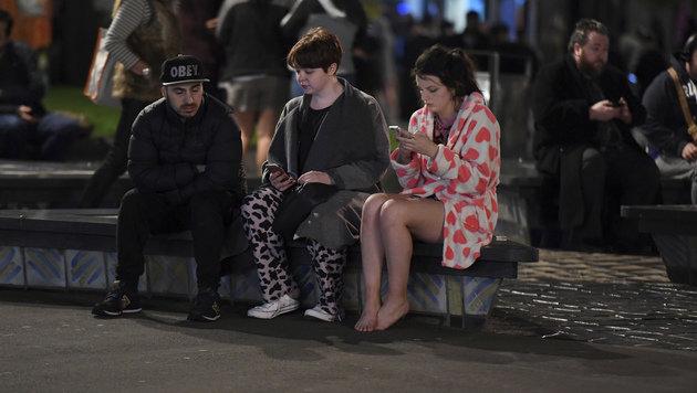 Hunderte Nachbeben nach Erdstoß in Neuseeland (Bild: ASSOCIATED PRESS)