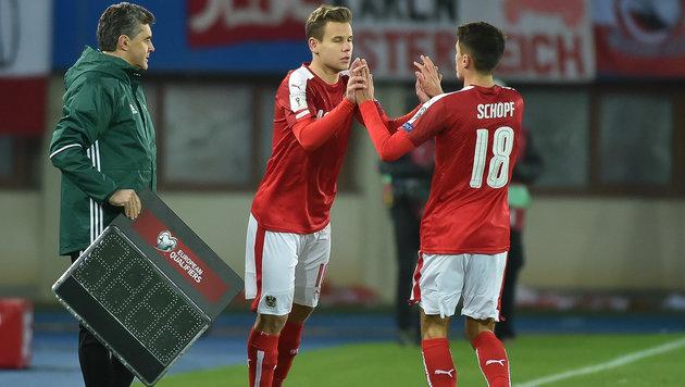 Gregoritsch, Schöpf und Schaub verstärken U21-Team (Bild: GEPA)