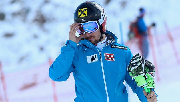 Großes Aufatmen: Hirscher startet im Levi-Slalom! (Bild: GEPA)