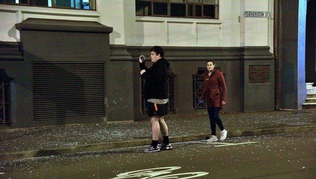 Nach Erdbeben: Neuseeland meldet erste Todesopfer (Bild: ASSOCIATED PRESS)