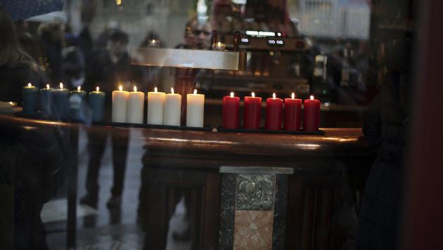 Die Bar des Le Carillon (Bild: AP)