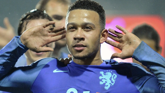 Niederlande-Joker Memphis Depay (Bild: Associated Press)