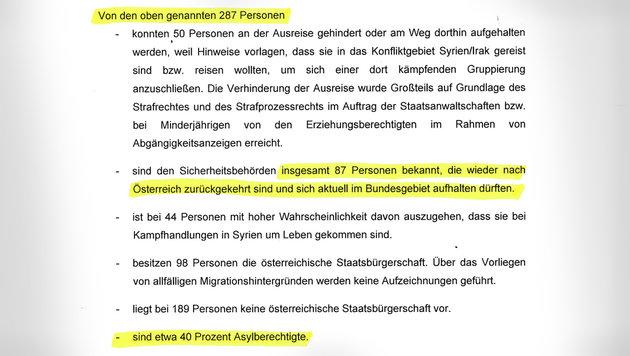 """114 Terrorkrieger kamen als """"Flüchtlinge"""" zu uns (Bild: """"Krone"""")"""