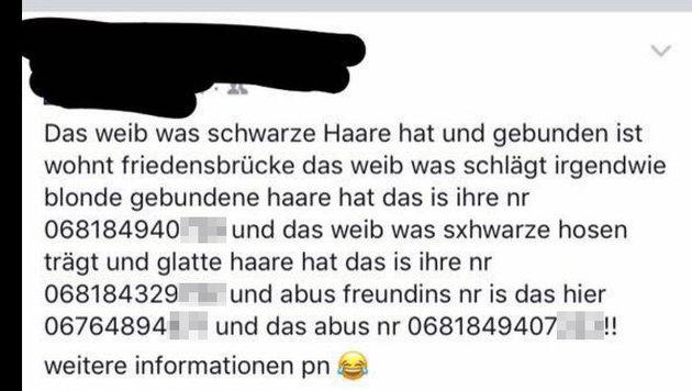 """""""Prügelvideo: Auf Facebook werden Täter gejagt (Bild: Facebook.com)"""""""