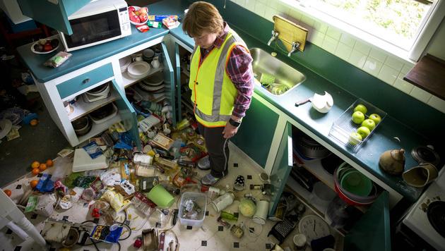Nach Erdbeben: Neuseeland meldet erste Todesopfer (Bild: AP)