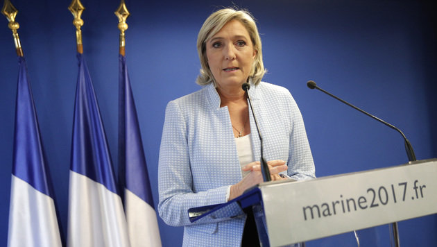 Marine Le Pen (Bild: ASSOCIATED PRESS)