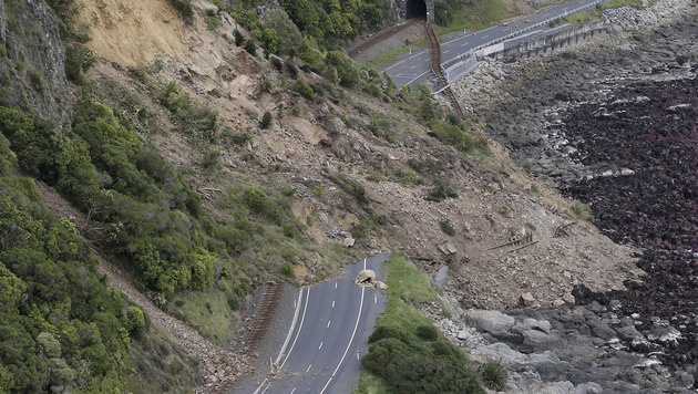Hunderte Nachbeben nach Erdstoß in Neuseeland (Bild: AP)