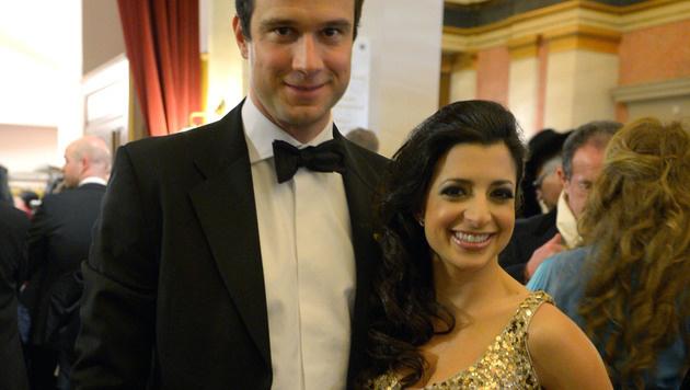Markus Rogan und seine Leanne sind zum ersten Mal Eltern geworden. (Bild: APA/ROLAND SCHLAGER)