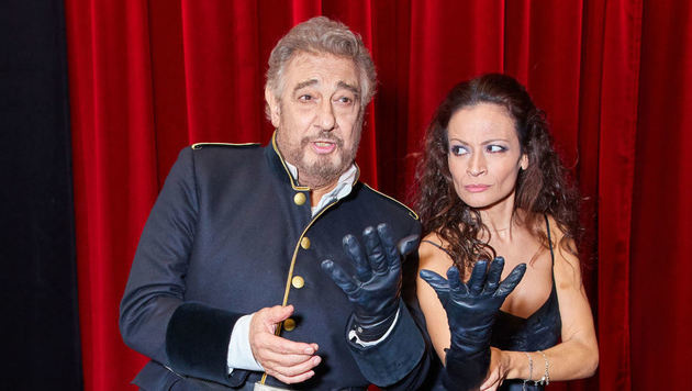 """Domingo und Rodriguez zwischen Liebe, Machtspielen, Intrigen, Mord & Wahnsinn in """"Macbeth"""" (Bild: Starpix/Alexander TUMA)"""