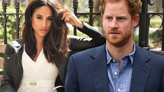 Englands Society-Hochzeit des Jahres (Bild: instagram.com/meghanmarkle, APA/AFP/JUSTIN TALLIS)