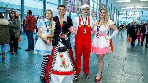 """Die Vienna Comic Con 2016 (Bild: Reed Exhibitions Messe Wien / www.christian-husar.com)"""